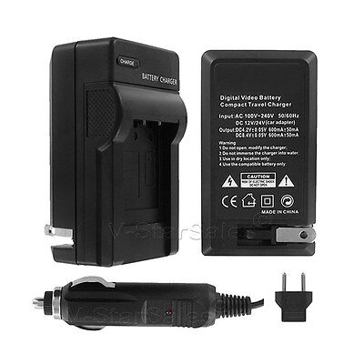 AC/DC Battery Charger for Canon EOS 10D 20D 30D 40D 50D  BP511