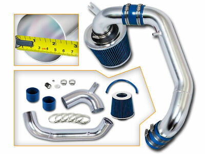 BLUE COLD AIR INDUCTION INTAKE KIT+DRY FILTER 96-98 GRAND AM SE//GT 2.4L