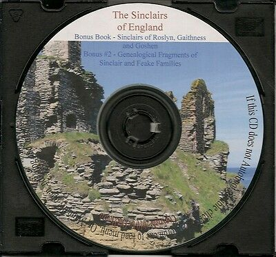 The Sinclairs of England + The Sinclairs of Roslyn