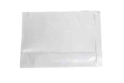 "(2000) 7"" x 10"" CLEAR PACKING LIST ENVELOPE- PLAIN FACE + FREE SHIPPING"