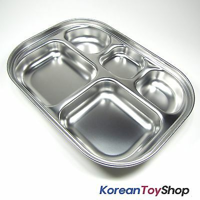 Stainless Steel Food Tray for Diet Kids Children, BPA Free Made in Korea