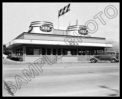 XXX Root Beer Restaurant #1 Photo 8X10  Seattle WA 1940