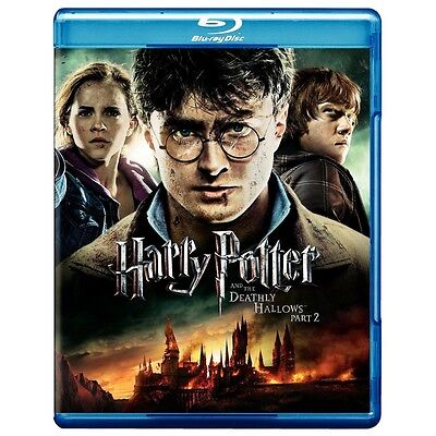 Harry Potter & Deathly Hallows Part 2****blu-Ray****region Free****new & Sealed
