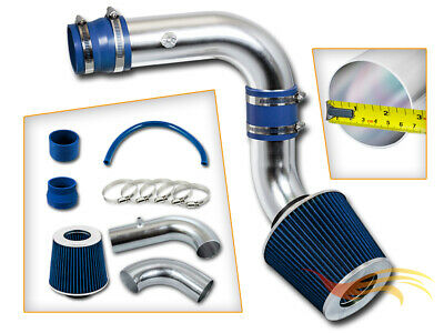 BCP BLUE 00-05 Dodge Neon 2.0L L4 Cold Air Intake System + Filter