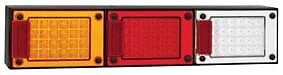 LED Autolamps J3BARWM GENUINE Jumbo Tail Lights w/Stop, Tail, Ind. & Reverse