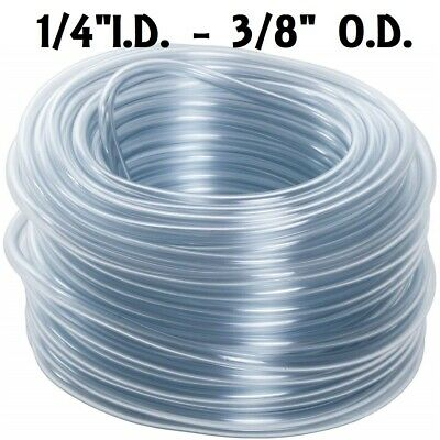 "5 Feet Of 1/4"" Tubing Hose For Automatic Waterer Drinker Cup Poultry Chicken Pvc"