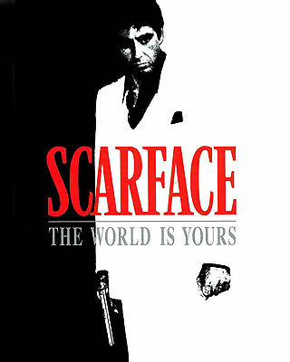 SCARFACE - Mini Movie Poster 8x10 Color Photo