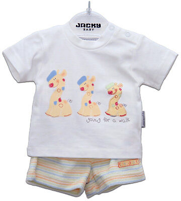 Jacky Shorty-Set Giraffe Gr. 62 (Creme-Bunt)