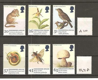 Endangered Species - 1998 - Unmounted Mint Set