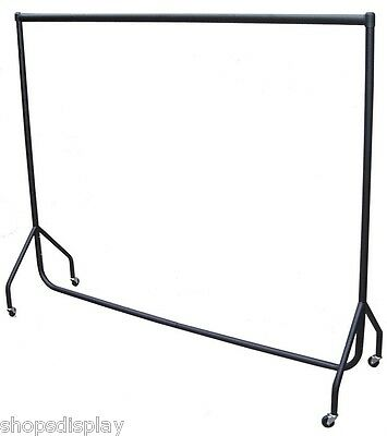 4ft Long x 7ft High HEAVY DUTY Clothes Garment Dress Display Rail Rack Stand NEW