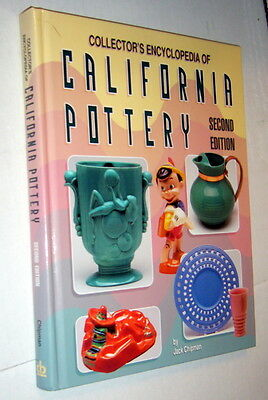 Collector's Encyclopedia California Pottery,Chipman,VG,HB,1999,Second Ed.   m1