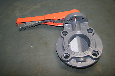 GF+ Georg Fischer 3in Butterfly Valve 150 PSI (161.570.006)