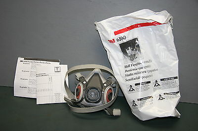 3M Small Half Facepiece Reusable Respirator 6100