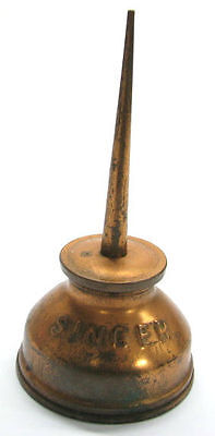 VINTAGE OLD SINGER SEWING MACHINE OIL CAN OILER x