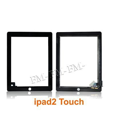 Ff Black New Replacement Lcd Screen Touch Digitizer Glass For Ipad 2