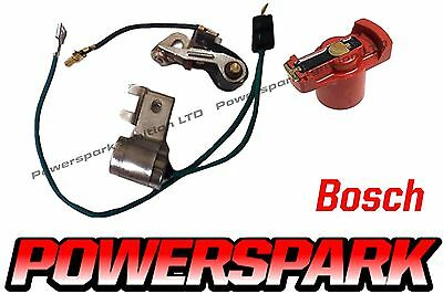 VW 009 Bosch 1955-79 Points And Condenser Set With Rotor Arm