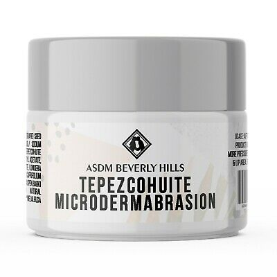 Microdermabrasion Cream with Tepezcohuite, Micro crystals, Tea Tree Oil 2oz