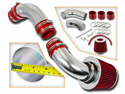 BCP RED 99-03 Protege 1.8/2.0 MP5 Short Ram Air Intake Induction Kit +Dry Filter