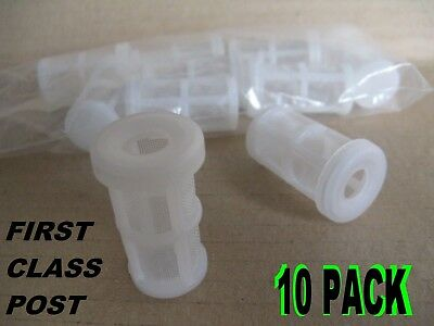 Bodyshop Spray gun Paint Filter Suction Feed Pot Filters 10 Pack 1st Class Post