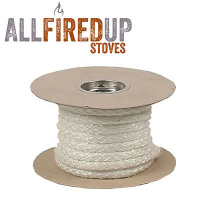 Heat Resistant Stove & Fire Rope For Wood Burning Stove Doors & Flue Pipe Seal