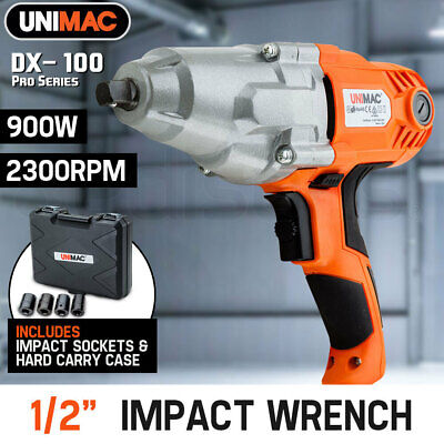 "NEW UNIMAC 240V  1/2"" Electric Impact Wrench Rattle Gun Car Torque Driver Tools"