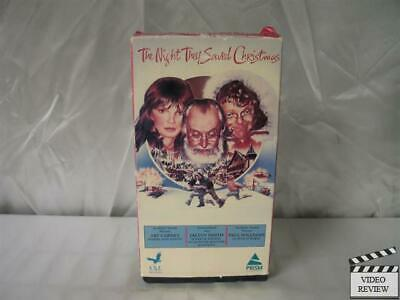 The Night They Saved Christmas (VHS)