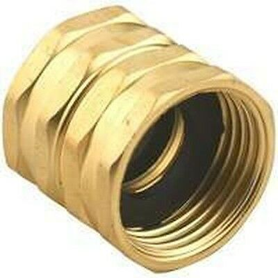"New Gilmour 7Fhs7Fh Brass Double Female 3/4"" Hose Thread Adapter Connector Sale"