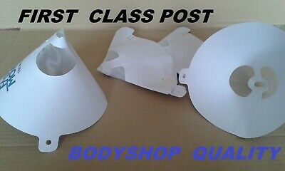 Bodyshop  Paint Strainers Filters for waterbased and solvent 15 Pack First Post