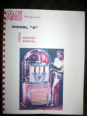 AMI Model C Jukebox Service- Parts -Troubleshooting Manual
