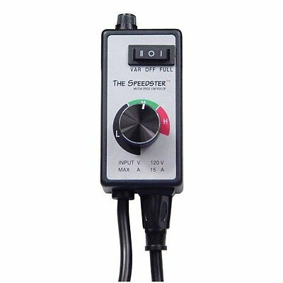 Speedster Variable Speed Fan Controller - Control Exhaust Inline Dimmable Air