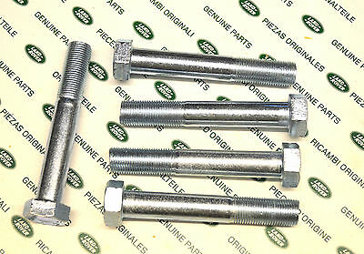 PAIR BH610321L X2 Land Rover Discovery Rear Trailing Arm to Axle Bolt and Nut