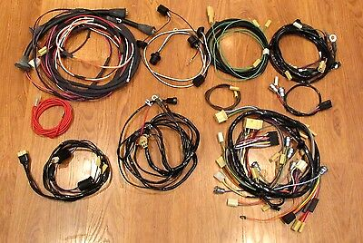 1957 chevy wire harness kit convertible with generator wiring ** usa made **
