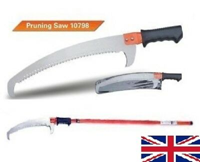 HEAVY-DUTY PRUNING SAW WITH EXTENDABLE POLE 1.33-2.43m