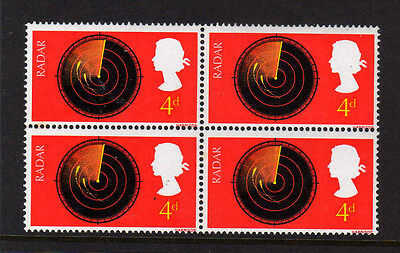 GREAT BRITAIN 1967 DISCOVERY 4d BROKEN SCALE SG 752a MNH.