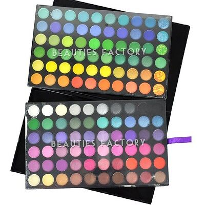 New 120 Color Eye Shadow Makeup Cosmetic Shimmer Matte Eyeshadow Palette Set Kit