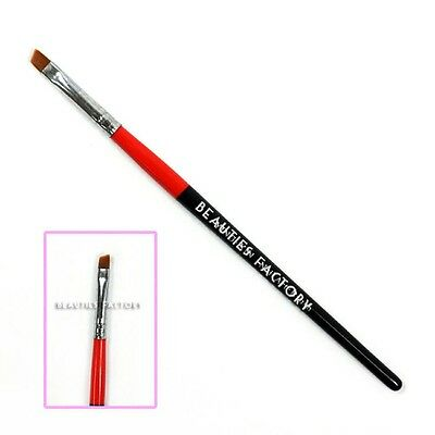 Nail Art UV Gel Design Brush Painting Pen Manicure Tips Tool Angled Large #474B