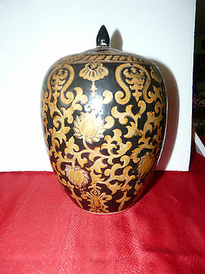 Lovely ACCENT Asian Jar