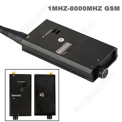 1MHZ-8000MHZ GSM Bug RF Radio Frequency Signal Bug Detector Finder Sweeper