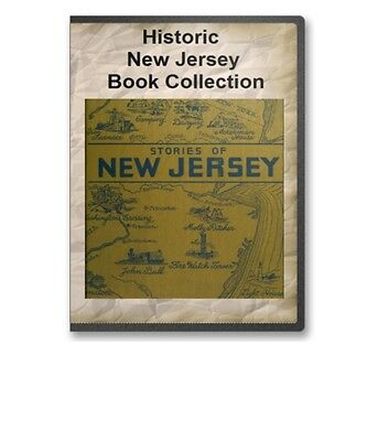 New Jersey State County Family Tree History Culture Genealogy Book Set - B303