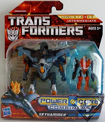 SKYHAMMER with AIRLIFT Transformers Power Core Combiners Figures 2-pack 2010
