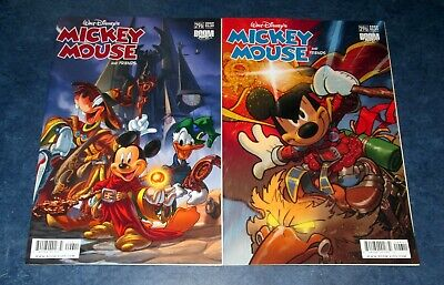 A & B WALT DISNEY's MICKEY MOUSE friends 296 boom kids COMIC BOOK 1st print lot
