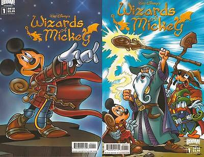 A & B WALT DISNEY's WIZARDS of MICKEY #1 mouse BOOM KID COMIC BOOK 1st print