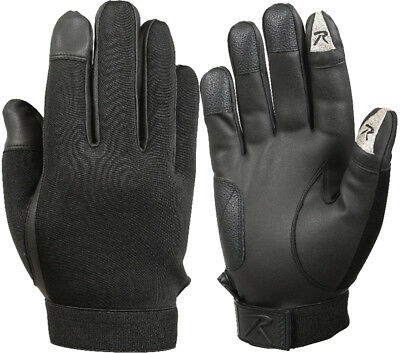 Black Touch Screen Neoprene Waterproof Duty Tactical Gloves