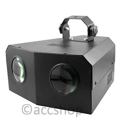 New Music Active Dual Rotating LED Stage Lighting Club DJ Party Disco Lights