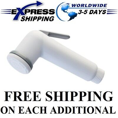 Handheld Toilet Bathroom Portable Bidet Diaper Spray Shower Muslim Shattaf Rinse