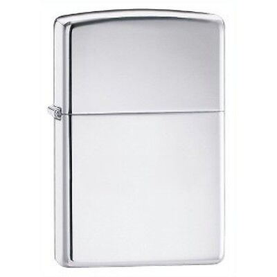 New Zippo Lighter 250 High Polished Chrome Usa Sale