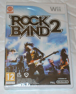 Rock Band 2 Two - Nintendo Wii - BRAND NEW & SEALED