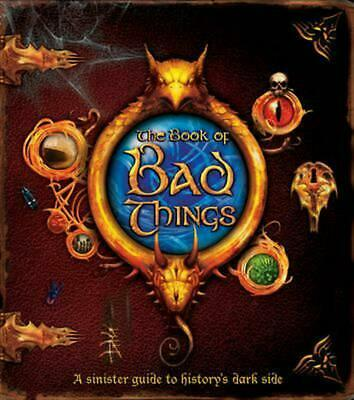 Book of Bad Things by Clive Gifford (English) Hardcover Book Free Shipping!