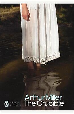 The Crucible: A Play in Four Acts by Arthur Miller Paperback Book Free Shipping!