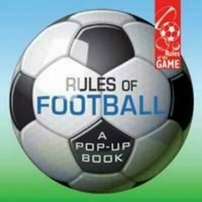 Rules of Football by Jim Kelman Hardcover Book Free Shipping!